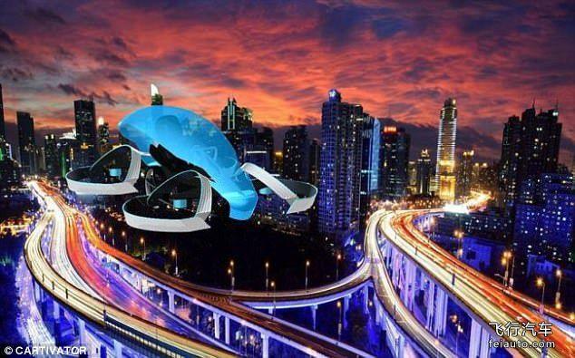 丰田 SkyDrive 飞艇汽车参数报价2025年上市